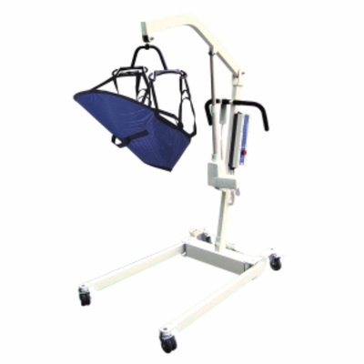 Drive Medical Bariatric Electric Patient Lift with Rechargeable Battery and 4 Point Craddle, 1 ea