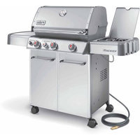 Weber Genesis S-330 Natural Gas Grill, Stainless Steel