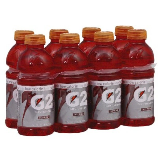 Gatorade G2 Fruit Punch Sports Drink 20 oz, 8 pk