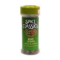 Spice Classics bay leaves (hojas de laurel), .22-oz. plastic jar
