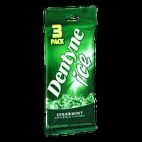 Dentyne Ice Spearmint Sugarless Gum- 3 PK