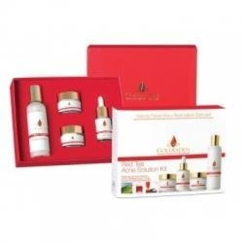 Goldfaden MD Red Tea Acne Solution Kit 4 piece