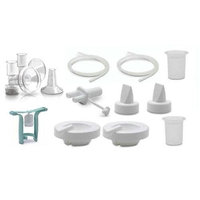 Ameda Purely Yours Replacement Parts Kit with One-Hand Manual Breastpump BPA FREE - Large (30.5mm)/ Insert (28.5mm)