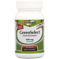 Vitacost Brand Vitacost GreenSelect Green Tea Extract Phytosome -- 600 mg per serving - 90 Capsules
