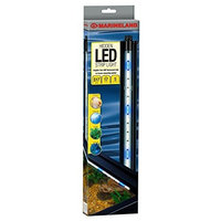 Marineland Hidden LED Strip Light, White and Blue, 17-Inch