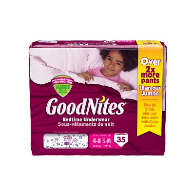 Goodnites Girls Youth Pants
