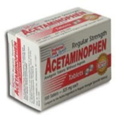 Preffered Plus Products Acetaminophen Tablets Regular Strength 325 Mg -100 ea