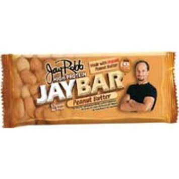 Jay Robb Peanut Butter Protein Bar with 15 Grams of Protein