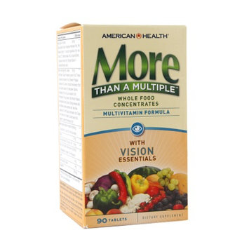 American Health More Than A Multiple Multivitamin Formula with Vision Essentials, Tablets, 90 ea