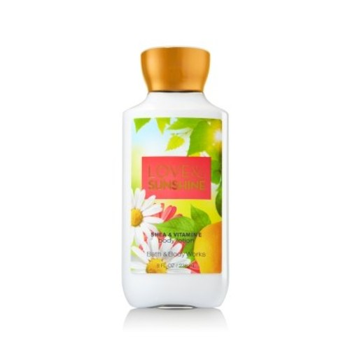 Bath & Body Works Vitamin E Lotion Love & Sunshine