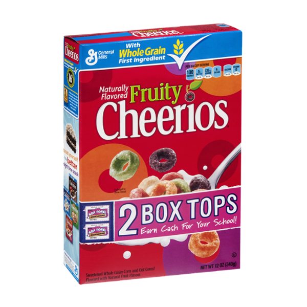 General Mills Cheerios Fruity Cereal