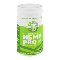 Manitoba Harvest Hemp Pro Fiber Plant Based Protein Supplement