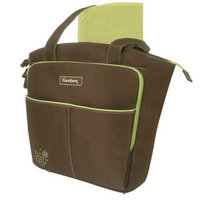 Ad Sutton Gerber Diaper Bag Tote- Brown/Sage