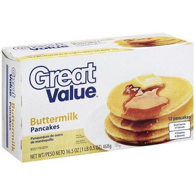 Great Value: Buttermilk Pancakes, 16.5 Oz