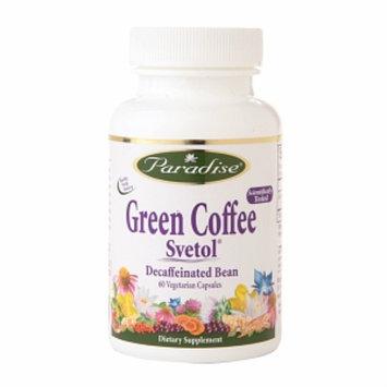Paradise Herbs Green Coffee Svetol Decaffeinated Bean