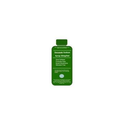 Pharmaceutical Associates, Inc. Docusate Sodium Syrup USP Stool Softener Laxative - 16 fl. oz.
