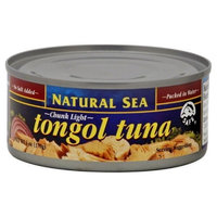 Natural Sea Tongal Tuna, Chunk Light, No Salt Added, 6-Ounce (Pack of 8)