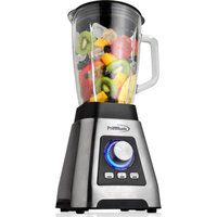Premium 3-Speed Pulverizer/Professional Blender, Black/Silver