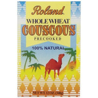 Roland Pre-Cooked Whole Wheat Couscous, 12-Ounce Boxes (Pack of 12)