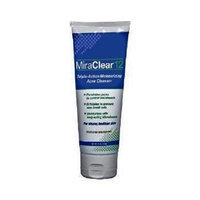 Miraclear 12 MiraClear12 Triple Action Moisturizing Acne Cleanser 4 oz