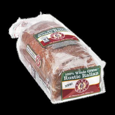 Roman Meal 100% Whole Grain Rustic Italian Breed