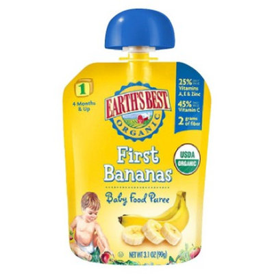 Earth's Best Organic® First Bananas Baby Food Puree