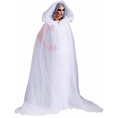 Forum Novelties Womens Haunted Hooded Cape and Dress Adult Costume