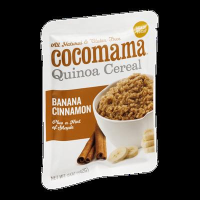 Cocomama Quinoa Cereal Banana Cinnamon