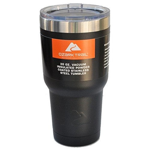 7a27b7e470d Ozark Trail Outdoor Equipment Ozark Trail Vacuum Insulated Powder Coated  Stainless Steel Tumbler - Black Reviews 2019 Page 4