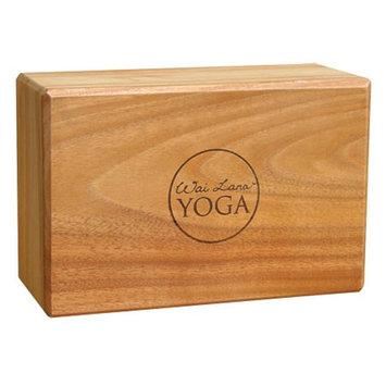 Wai Lana Teak Yoga Block