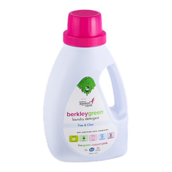 Berkley Green Laundry Detergent Free & Clear