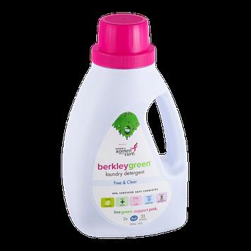 Berkley Green Laundry Detergent Free & Clear