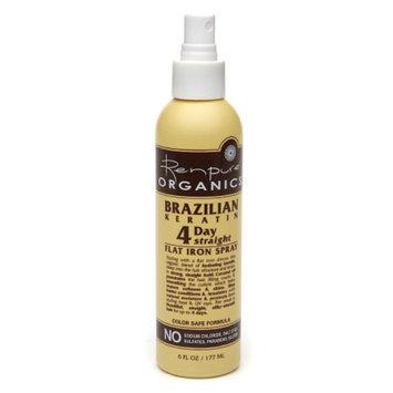 Renpure Organics Brazilian Keratin 4 Day Straight Flat Iron Spray