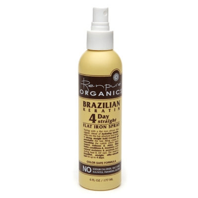 Renpure Organics Brazilian Keratin 4 Day Straight Flat Iron Spray