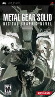 Konami Metal Gear Solid Digital Graphic Novel