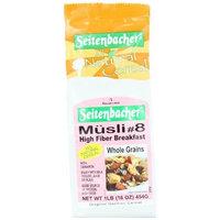 Seitenbacher Muesli #8 High Fiber Breakfast, 16-Ounce Bags (Pack of 3)