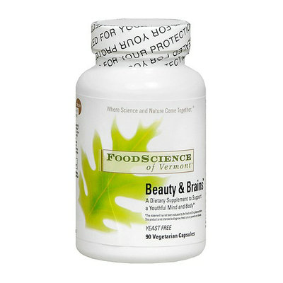 FoodScience of Vermont Beauty & Brains Supplement Capsules