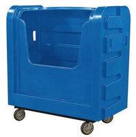 ROYAL BASKET TRUCK G36-BLX-BFA-6UNN Poly Bulk Truck,36 cu ft, Blue