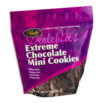 Pamela's Simplebites Mini Cookies Extreme Chocolate