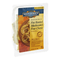 Monterey Gourmet Foods Signature Recipe Ravioli Fire Roasted Mushroom & Four Cheese