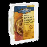 Monterey Gourmet Foods Signature Recipe Ravioli Fire Roasted Mushroom & Four Cheese
