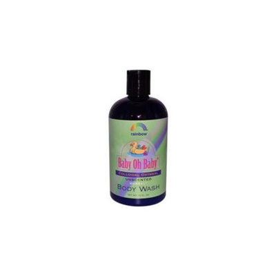 Rainbow Research 0187724 Baby Oh Baby Organic Herbal Wash Colloidal Oatmeal Unscented - 12 fl oz