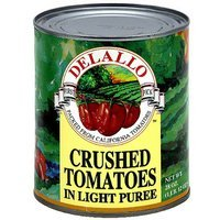 Delallo Crushed Sun Ripened California Tomatoes In Light Puree