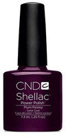 CND Shellac Plum Paisley 0.25-ounce Nail Polish