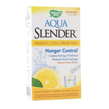 Nature's Way Aqua Slender Weight Loss Drink Mix