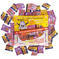 Glee Gum Asstorted Flavors Gum Balls, 72-Count