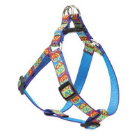 Lupine 3/4 Inch Peace Pup Step In Dog Harness