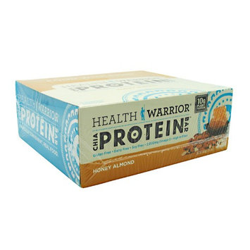 Health Warrior Chia Protein Bar Honey Almond - 12 Bars