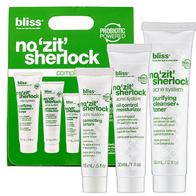 Bliss No 'Zit' Sherlock Complete Acne System