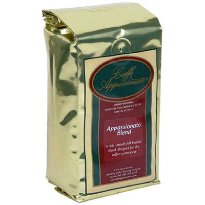 Caffe Appassionato Appassionato Blend Ground Coffee, 12-Ounce Bags (Pack of 3)